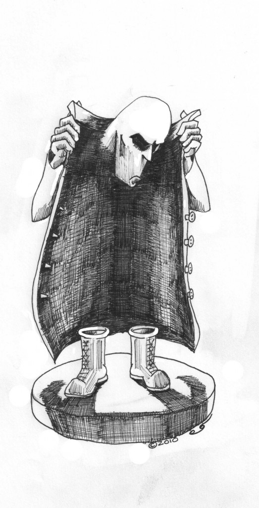 """""""Where is My Humanity"""" A Human Rights Cartoon by Kaveh Adel 2010"""