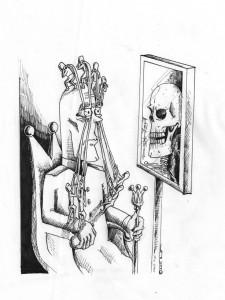 Political Cartoon: A Clockwork Dictator Copyright 2011 Kaveh Adel