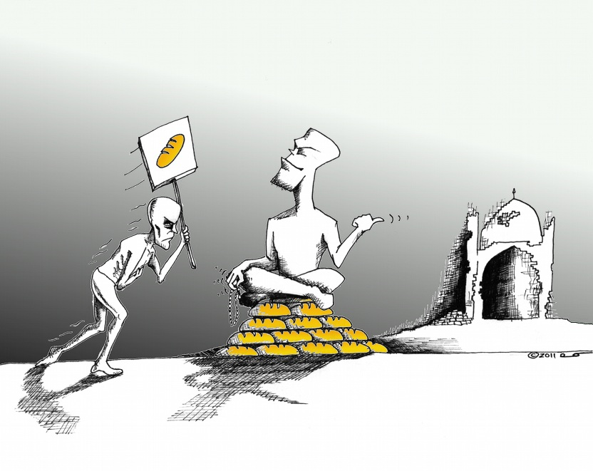 "Link to Political Cartoon: If you build ""IT"" the Bread will come!"