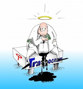 Transocean Cartoon by Kaveh Adel