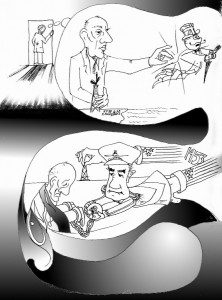 Kaveh Adel Graphic Novel Copyright 2011mossadegh page