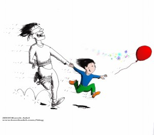 Cartoon: &quot;Parenthood&quot; 2011 by Iranian American Cartoonist and Artist Kaveh Adel