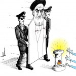 &quot;Cold reception for Cardboard Imam&quot; by Iranian American Cartoonist Kaveh Adel