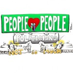 "Political Cartoon: ""People Love People"" by Iranian American Cartoonist and Artist Kaveh Adel"