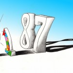 Cartoon &quot;1 in 88&quot; 2012 by Iranian American Cartoonist and Artist Kaveh Adel