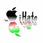 Political Cartoon &quot;Apple&#039;s iHate for iRan&quot; by Iranian American Cartoonist Kaveh Adel