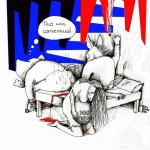 "Political Cartoon ""Consensual, NOT Legitimate"" by Iranian American Cartoonist Kaveh Adel"