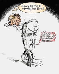 "Political Cartoon ""Todd Akin M.D. (R)"" by Iranian American Cartoonist Kaveh Adel"
