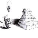 Political cartoon: &quot;Cyrus the Great Answers&quot; By Iranian American Cartoonist Kaveh Adel