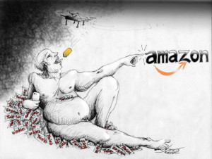 "Political Cartoon: ""The Destruction of Adam "" By Kaveh Adel Iranian American Cartoonist."