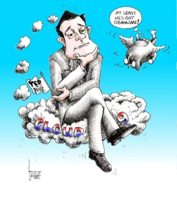 Political cartoon Imagine Cruz 2015 Iranian American Cartoonist Kaveh Adel