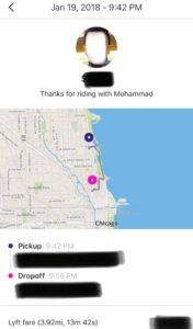 A Lyft Ride with Mohammad by Kaveh Adel 2018©KavehAdel.com