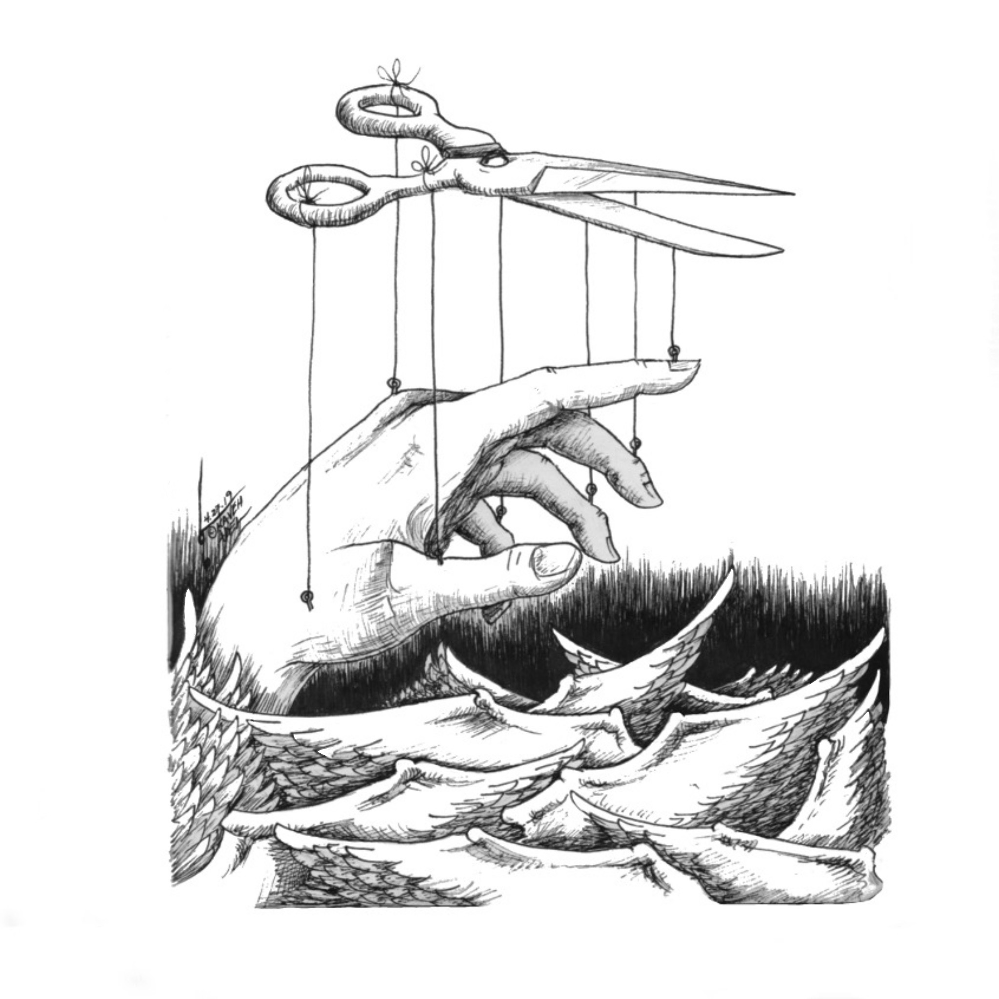 ©️2019 Kaveh Adel.com Cartoonist